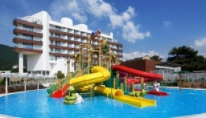 Геленджик, Biarritz Resort 4* Ультра ALL, свой пляж